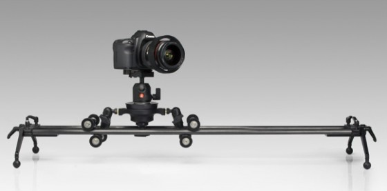 Rail and tabletop slider